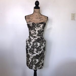 J. Crew Strapless Dress Size 12